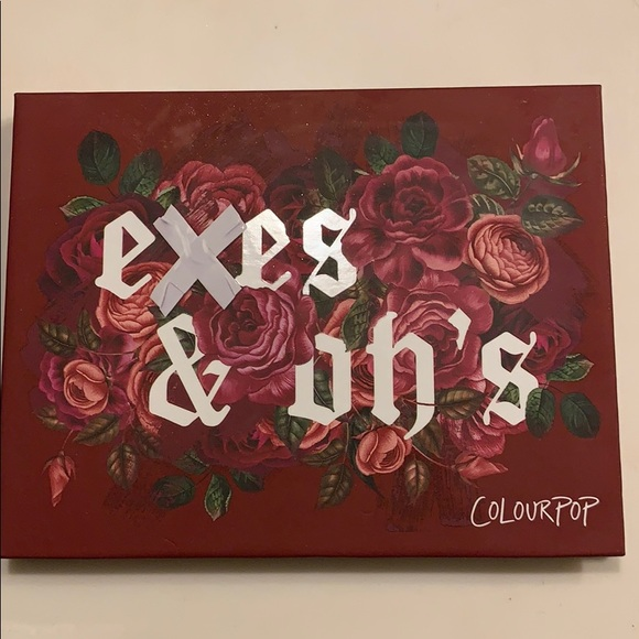 Exes & Oh's Pressed Powder Eyeshadow Palette by Colourpop #14
